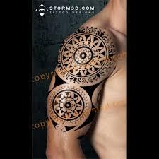 134 best digital mockups of my tribal tattoo designs images on