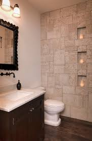Slate Bathroom Ideas by 30 Exquisite And Inspired Bathrooms With Stone Walls