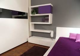 Wall Shelving Units by Wall Shelving Units Design With Purple Colour Wire Shelving Unit