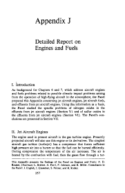 appendix j detailed report on engines and fuels environmental