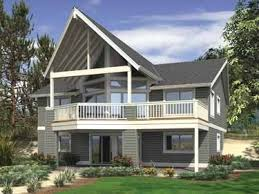 basement home plans small lake house plans with screened porch lovely walk out daylight