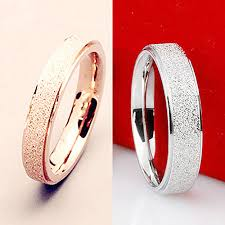 bluelans wedding band ring stainless steel matte ring aliexpress buy wedding band ring stainless steel
