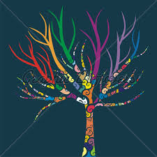 graphics for colored tree graphics www graphicsbuzz