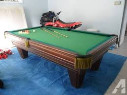 brunswick used pool tables brunswick heritage pool table for sale in briarcliff manor new york