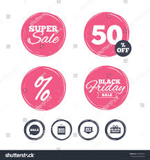 black friday pink sale super sale black friday stickers sale stock vector 519832324