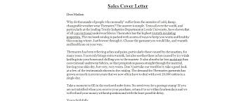 Resume Sales Examples by Cover Letter Sales Sample In Sample Sales Cover Letter My