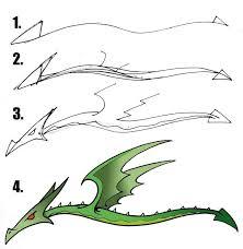 drawn dragon kid pencil color drawn dragon kid