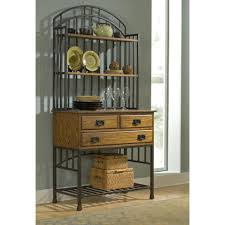 Cheap Bakers Rack Oak Hill Distressed Oak Bakers Rack Homestyles