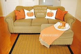 decorate this fall with stenciled accent pillows stencil stories