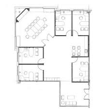 Floor Plan Of Office Building 4 Small Offices Floor Plans Sample Floor Plan Drawings