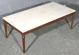 rectangular marble coffee table antiques com classifieds antiques antique furniture antique