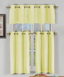 Yellow Faux Silk Curtains Yellow Faux Silk Agnes Three Curtain Panel Set Third Silk