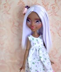 after high dolls for sale periwinkle ooak after high doll u n n i e d o l l s
