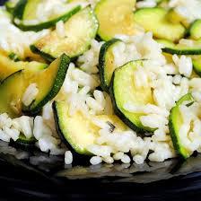 cuisiner le riz basmati recette gratin de courgettes au riz basmati