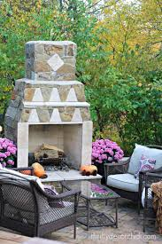 Fireplace Patio by October 1998 From Thrifty Decor