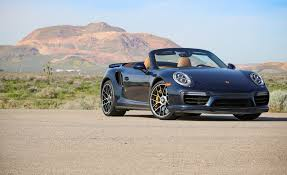 porsche pouch 2017 porsche 911 turbo s cabriolet test review car and driver
