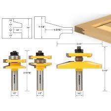 Make Raised Panel Cabinet Doors Router Bit Sets Door Window Sets Shaker 3 Bit Raised Panel
