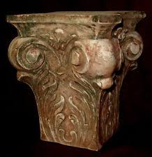 Greek Column Pedestal Column Pedestal Ebay