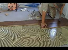 how to install prefinished hardwood floor glue technique diy