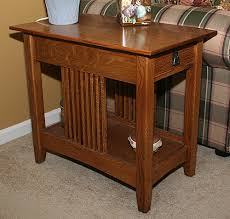 Free Wood End Table Plans by Mission End Table Plans Nesting Table Plans Quarter Sawn White Oak