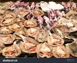 cuisine soldee fish seafood sold market jakarta indonesia stock photo 64323931