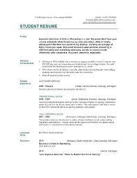 Project Coordinator Resume Sample Sample Of Simple Resume For Students U2013 Topshoppingnetwork Com