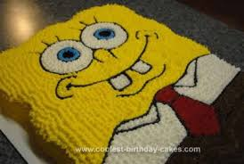 spongebob squarepants cake coolest spongebob squarepants cake