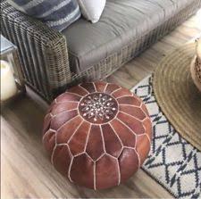 living room poufs ebay