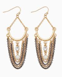 swag earrings shimmer swag earrings fashion jewelry charming