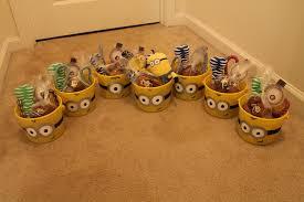 minion halloween basket diy minion gift baskets once upon my fairy tale