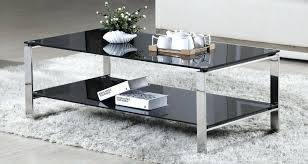 Steel And Glass Coffee Table Stainless Steel Coffee Table Capsuling Me