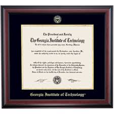 tech diploma frame institute of technology school color traditional diploma
