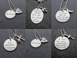 Hand Stamped Necklace La Dolce Vita Mother U0027s Day Gift Ideas Hand Stamped Custom