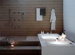 bathroom easy interior design ideas which you can bathroom modern interior design white painted walls natural finished wood flooring bath tub