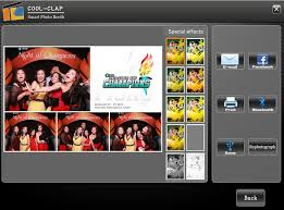 photobooth software cool clap photo booth machine with 3d photo booth software buy