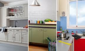 rajeunir une cuisine repeindre les meubles sol et crédence dans une cuisine