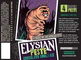 "Elysian Brewing Releases ""Peste"" and ""Split Shot"" 