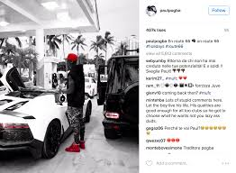 lamborghini back png manchester united sponsors u201cfollow u201d paul pogba on instagram amid