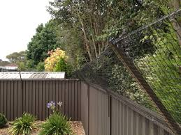 fence line netting cat enclosures sydney