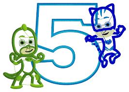 pj mask pj mask shirt catboy gekko birthday number