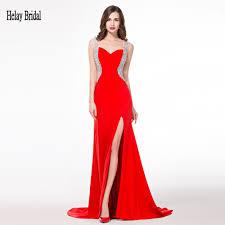 elegant long red dress oasis amor fashion