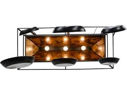 oil rubbed bronze pot rack with lights meyda lighting wild horses oil rubbed bronze pot rack 153181
