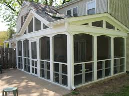Screened Porch Plans Adding A Back Porch To A Ranch Style House