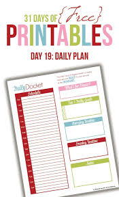 free printable daily planner pages 2014 daily planner printable day 19 daily planner printable planners
