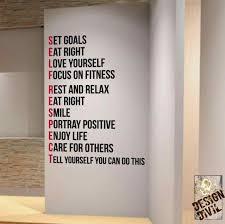 home gym wall decor sensational inspiration ideas home gym wall decor cool for gallery