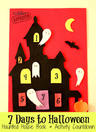 toddler approved 7 days to halloween haunted house book
