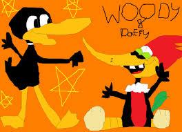the woody woodpecker woody woodpecker daffy duck by wakkowarner44 on deviantart