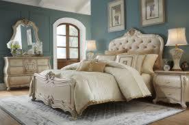 Michael Amini Furniture 4 Piece Aico Lavelle Cottage Bedroom Set Usa Furniture Warehouse
