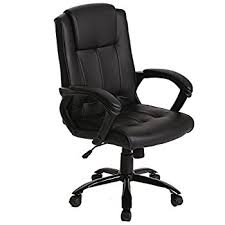 Desk Office Chair Amazonbasics Mid Back Office Chair Black Kitchen