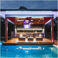 home outdoor kitchen design backyards awesome backyard designs with pool and outdoor kitchen